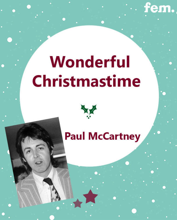 3. Wonderful Christmastime - Paul McCartney