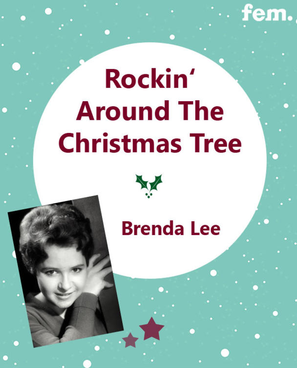 9. Rockin' Around The Christmas Tree - Brenda Lee