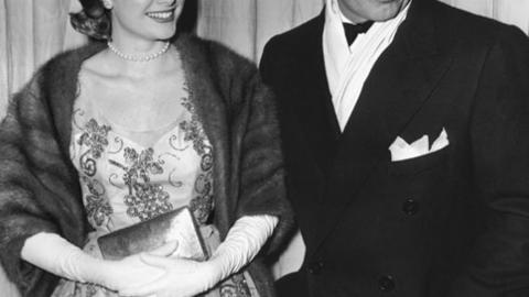 1954: Grace Kelly mit Clark Gable